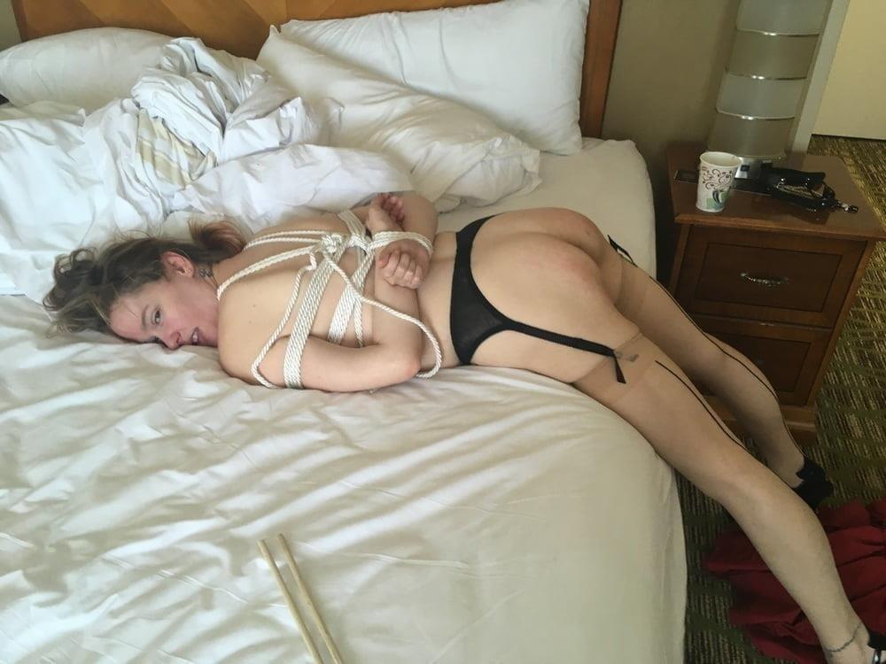 Amateur bondage anal-5767