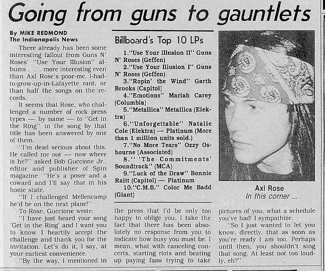 1991.10.03 - The Indianapolis News - Going from guns to gauntlets Y895rAF7_o