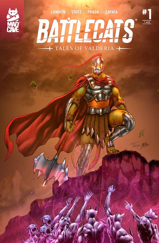 Battlecats - Tales of Valderia 001 (of 4) (2020)