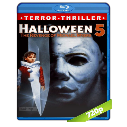 descargar Halloween 5 [1989][BD-Rip][720p][Trial Lat-Cas-Ing][VS] gratis