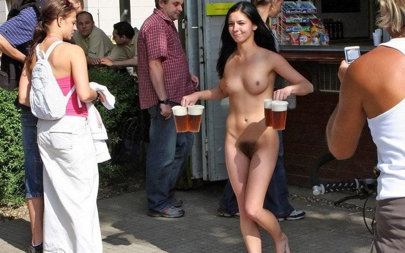 Wife nude at bar-8958