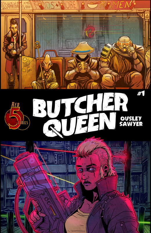 Butcher Queen #1-4 (2019)