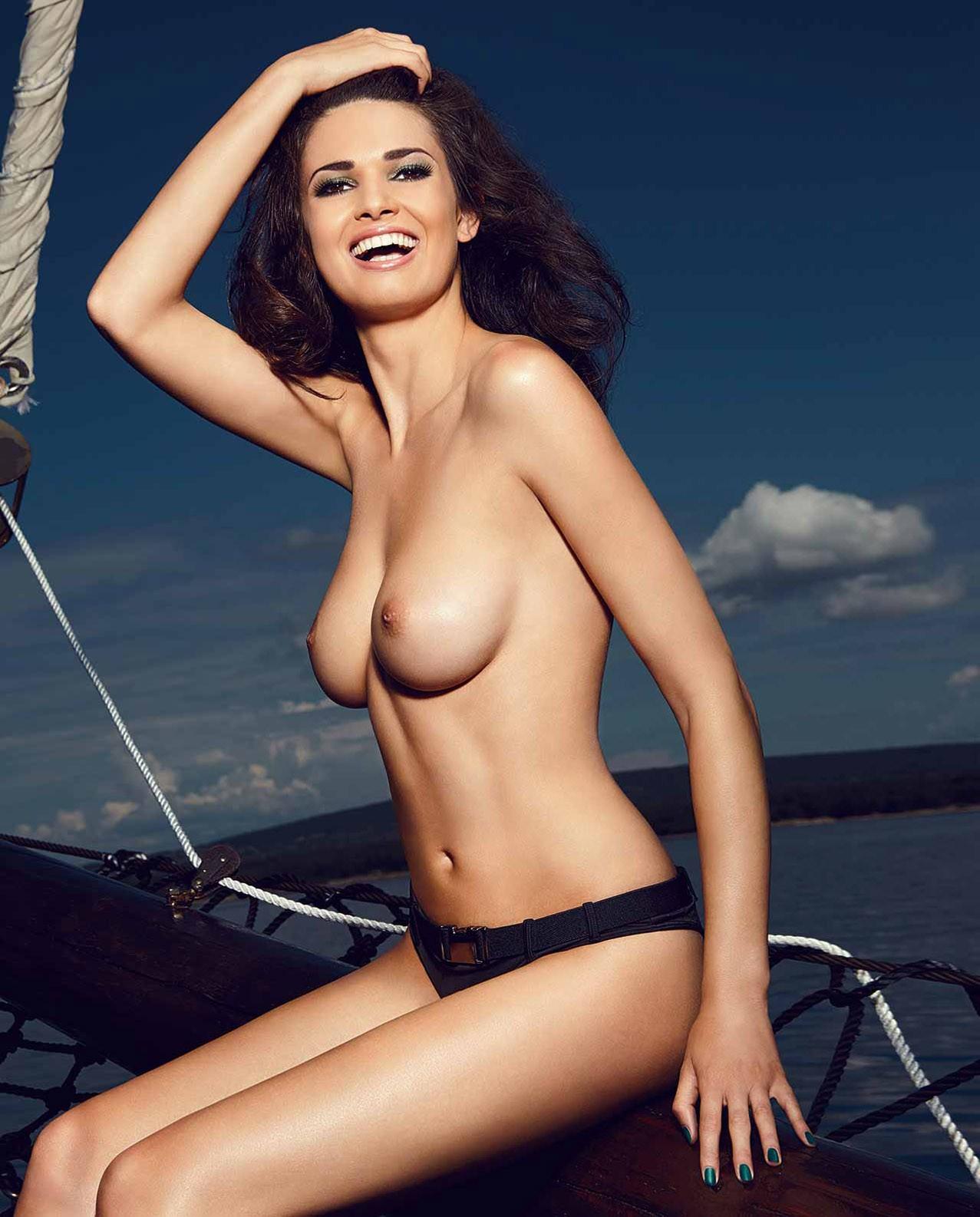 Berner Group erotic calendar 2014 - Inspired by Nature