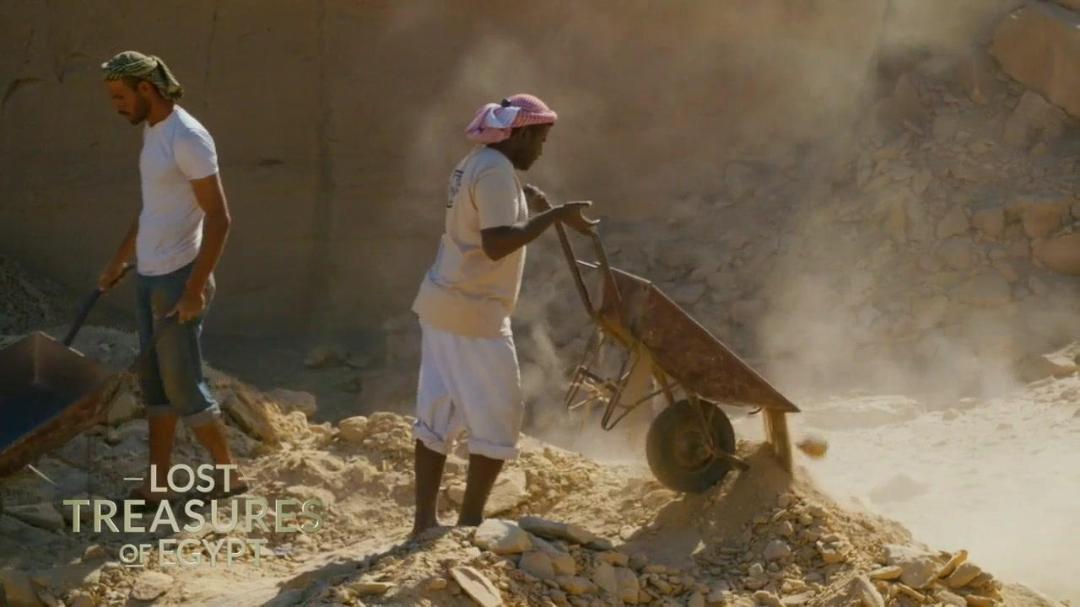Lost Treasures of Egypt S02E05 Hunt for Queen Nefertiti 720p WEBRip AAC2 0 x264-BOOP