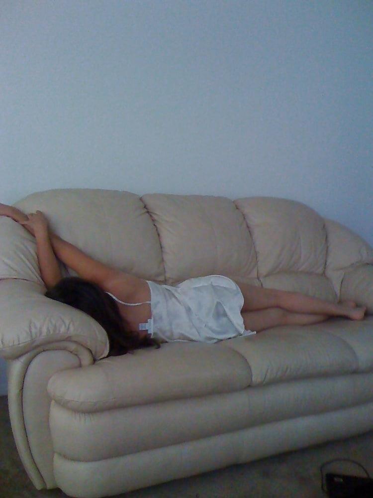 Wife asleep naked-7726