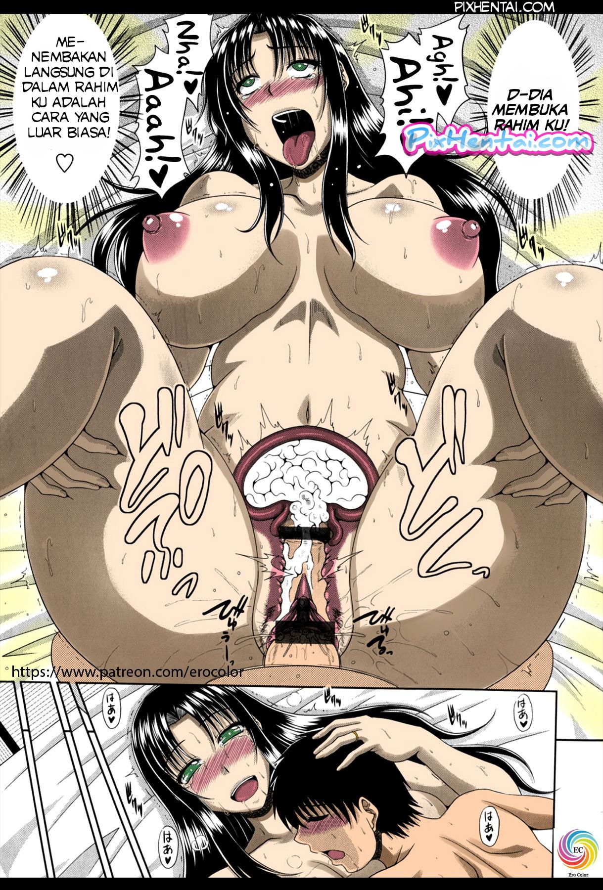 Komik Hentai Mandi dengan Ibunya Teman yang Bohai Manga Sex Porn Doujin XXX Bokep 20