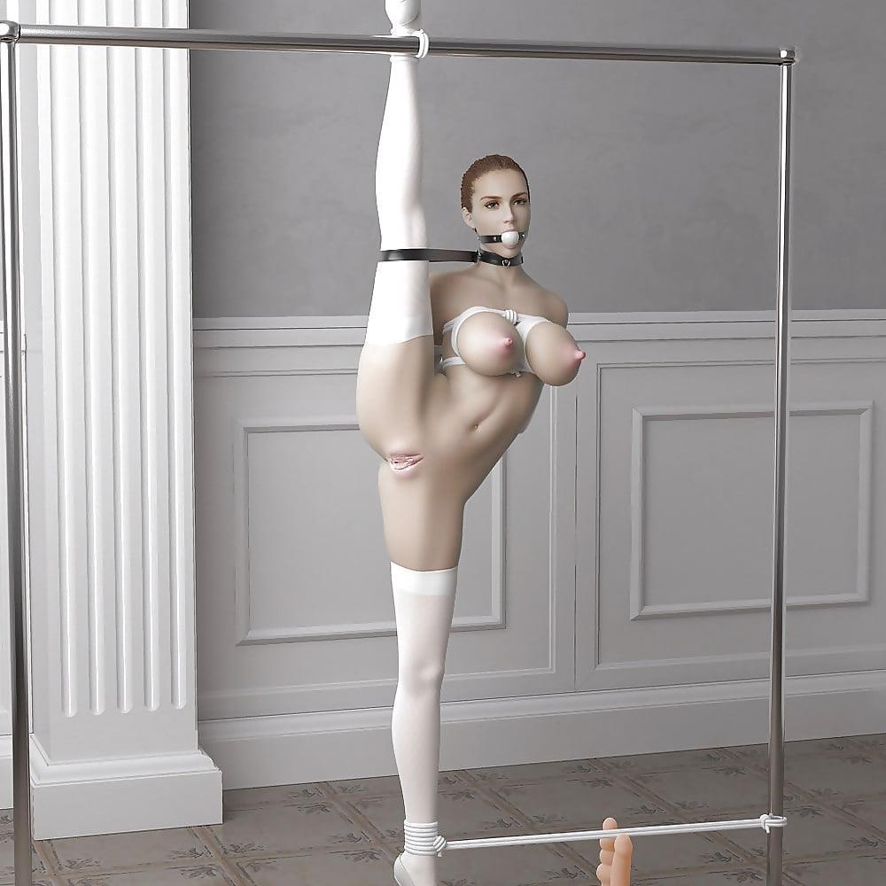 3d bondage girls-9396