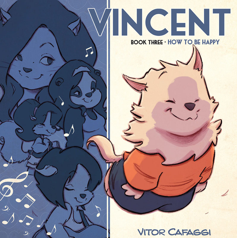 Vincent Book 03 - How to be Happy (2020)
