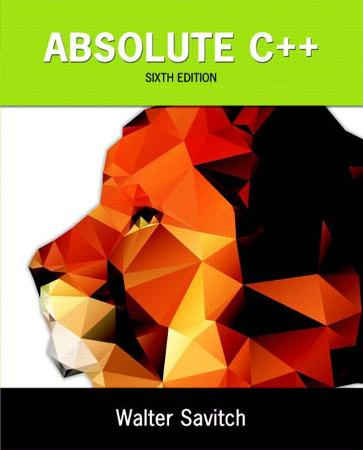 Absolute C  6th Edition