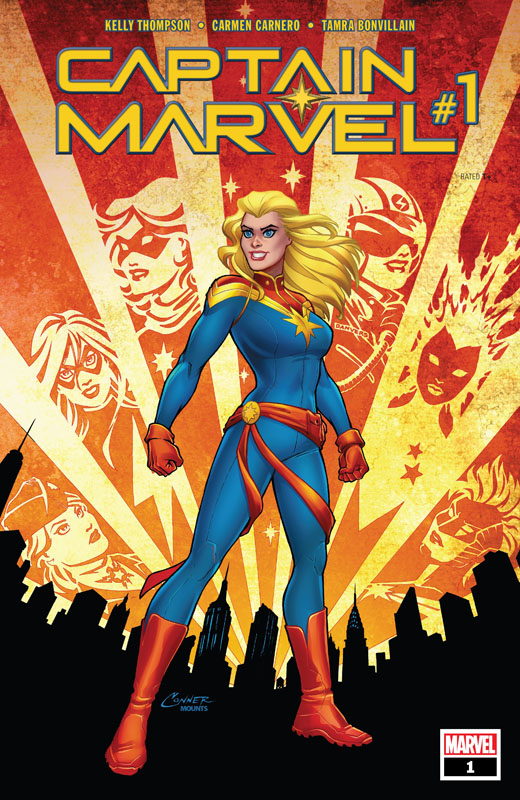 Captain Marvel Vol.10 #1-9 (2019)