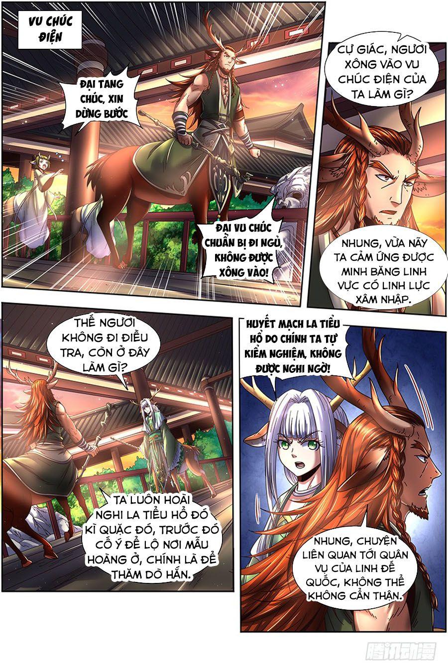 Ngự Linh Thế Giới Chapter 387 - Trang 11