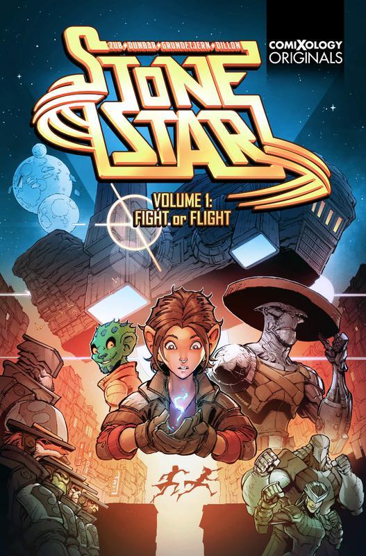 Stone Star v01 - Fight of Flight (2019)