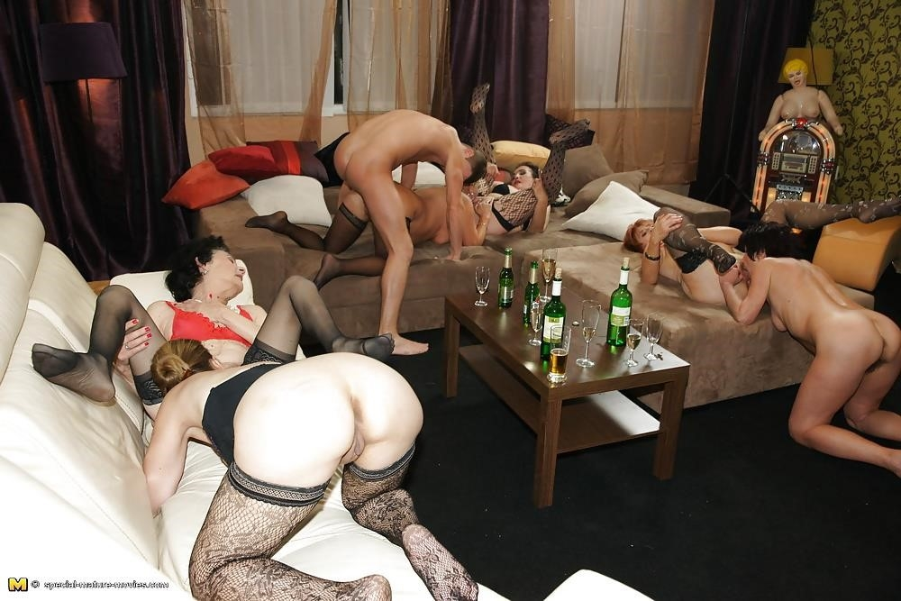 Group sex with mom-4886