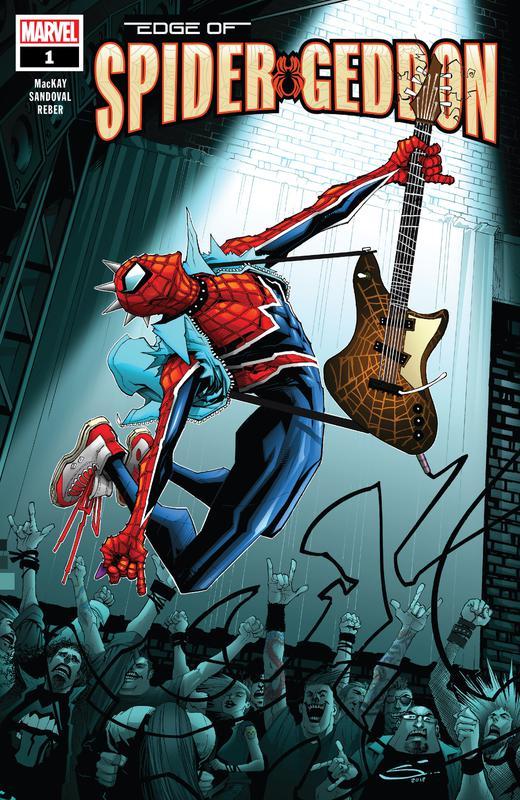 Edge of Spider-Geddon #1-2 (2018)