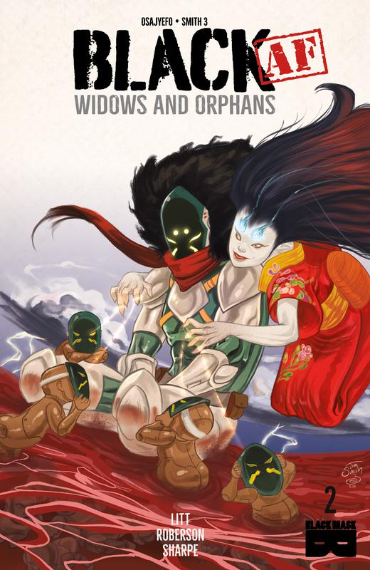 BLACK (AF) - Widows and Orphans #1-2 (2018)