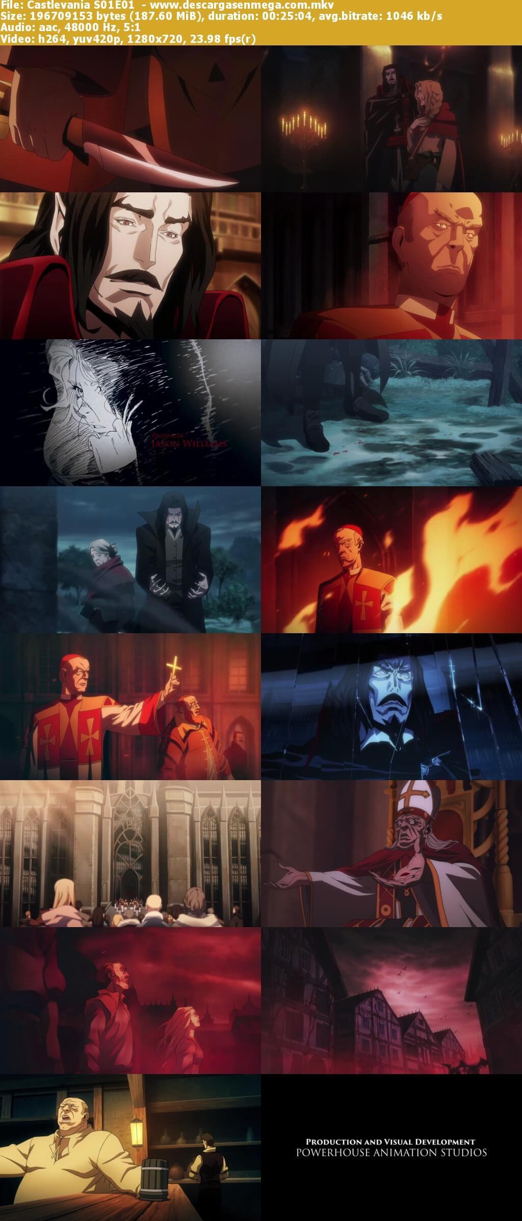 Capturas Castlevania temporada uno