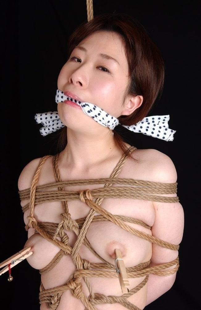 Asian bondage bukkake-6422