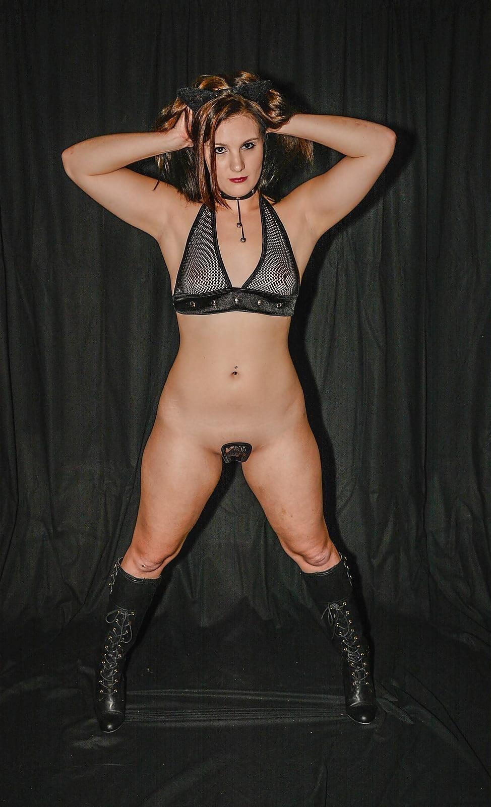 Sexy cat lady costume-3455