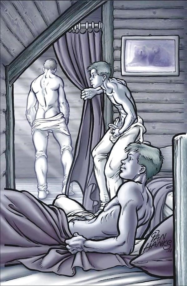 Dad son gay cartoon porn-5753
