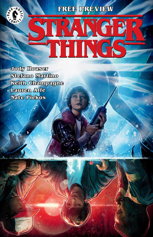 Stranger Things 001 - Ashcan (2018)