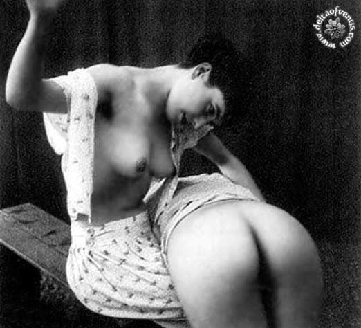 Vintage hairy nude-7063
