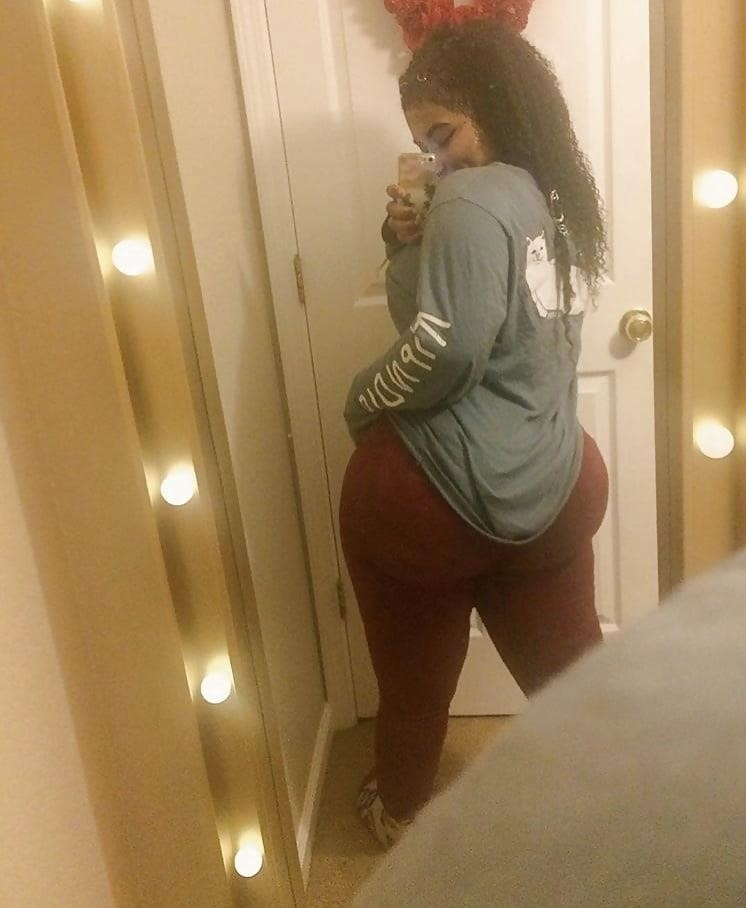 Thick black booty solo-8493