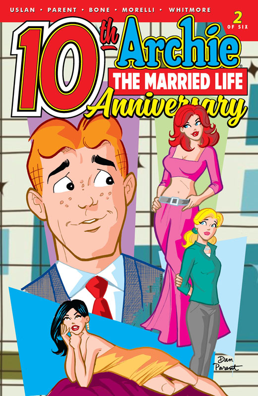 Archie - The Married Life - 10th Anniversary #1-5 (2019)
