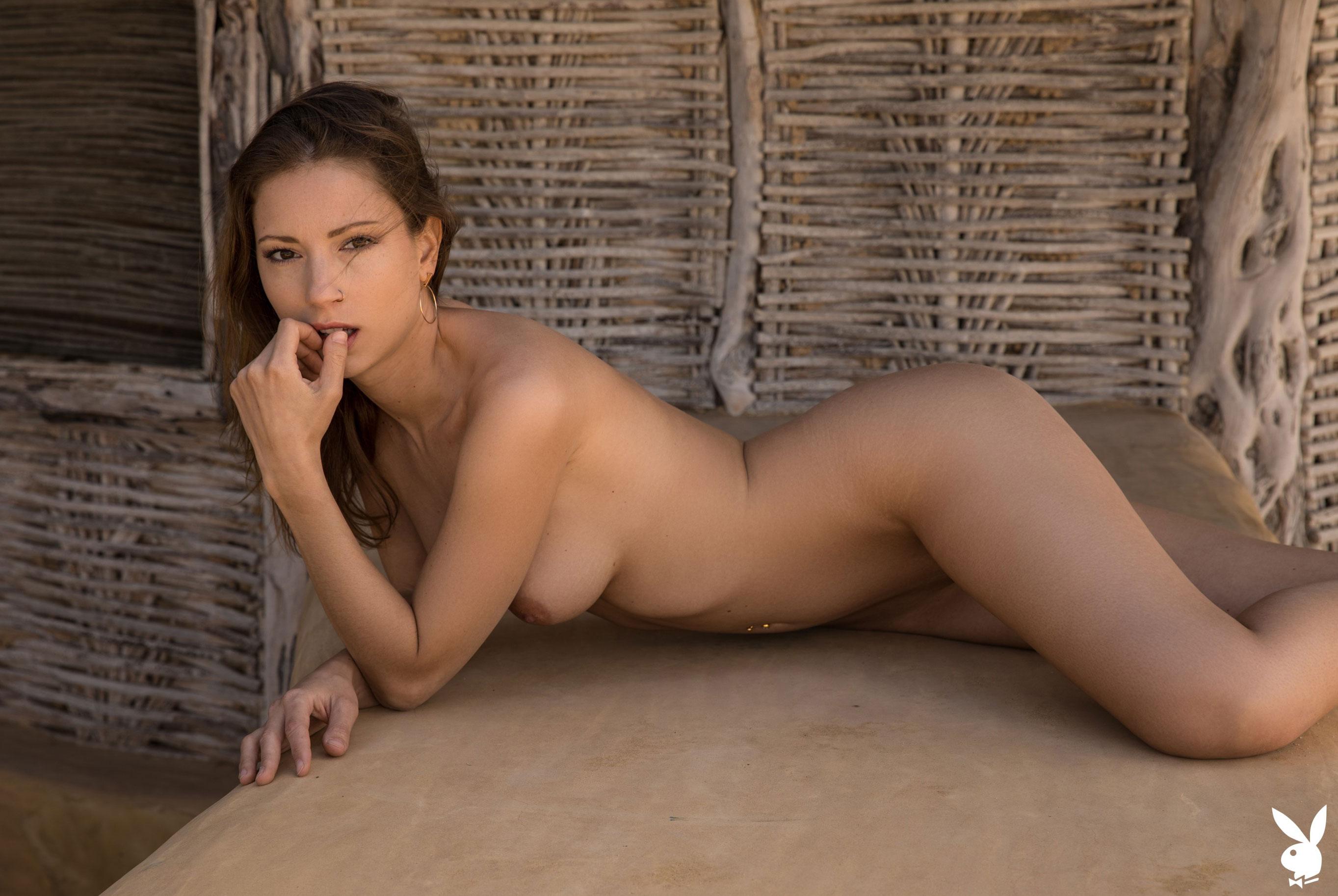 Отдыхаем на мексиканском пляже с сексуальной моделью Playboy / фото 14