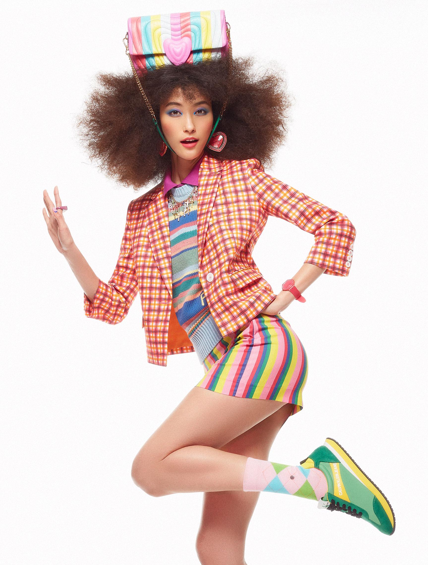 Pop Culture / Yeva Podurian, Ji Hye Park, Bhumika Arora by Daniel Clavero / Elle UK march 2019