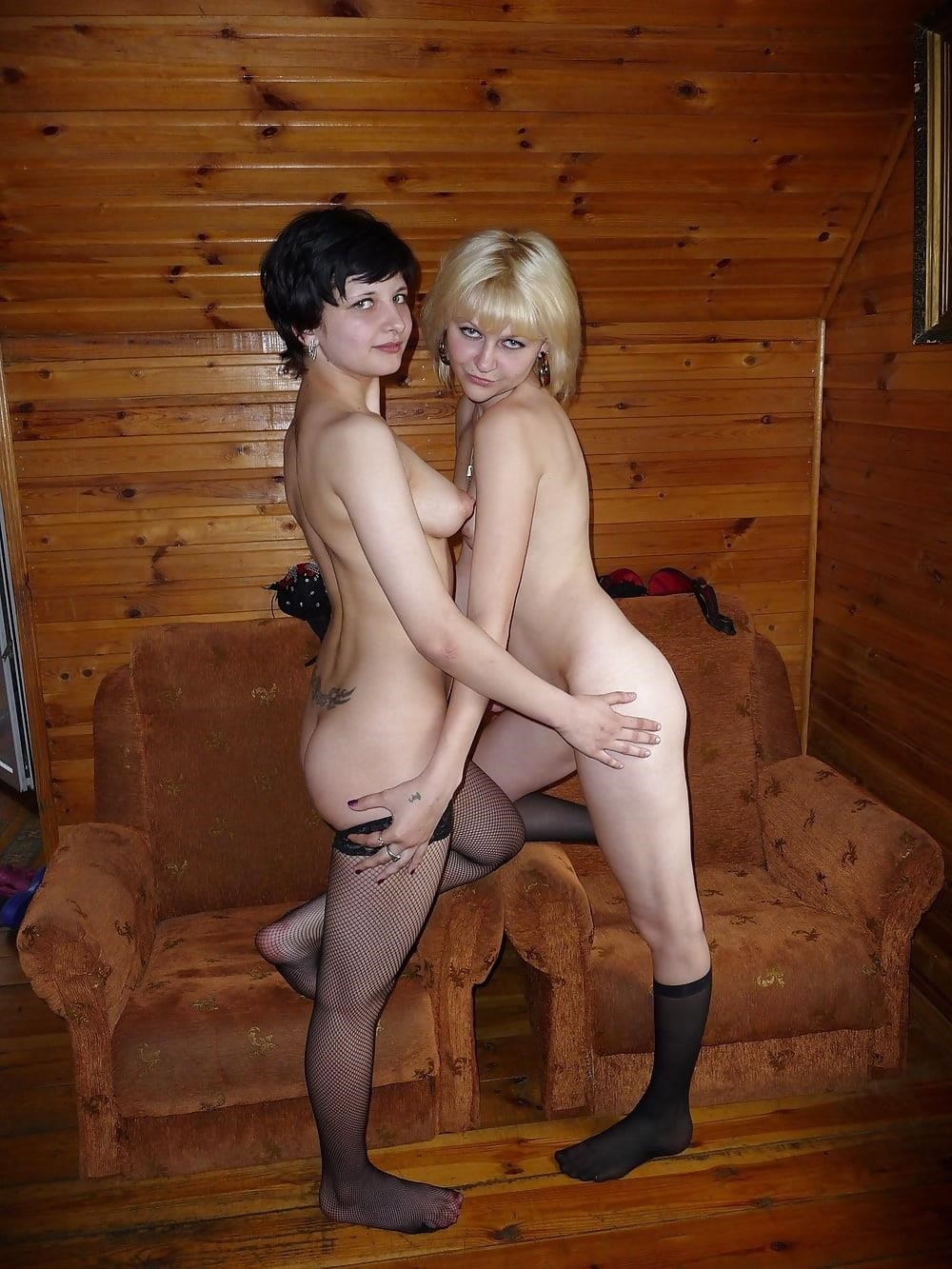 Sexy lesbians naked kissing-8225