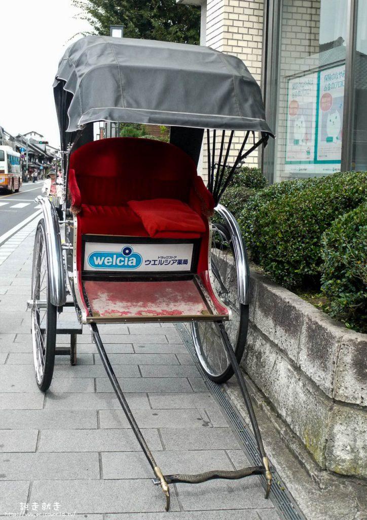 川越老街人力車