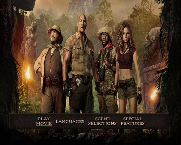 Jumanji: Vahşi Orman - Jumanji: Welcome to the Jungle 2017 DVD-9 DuaL - HDT