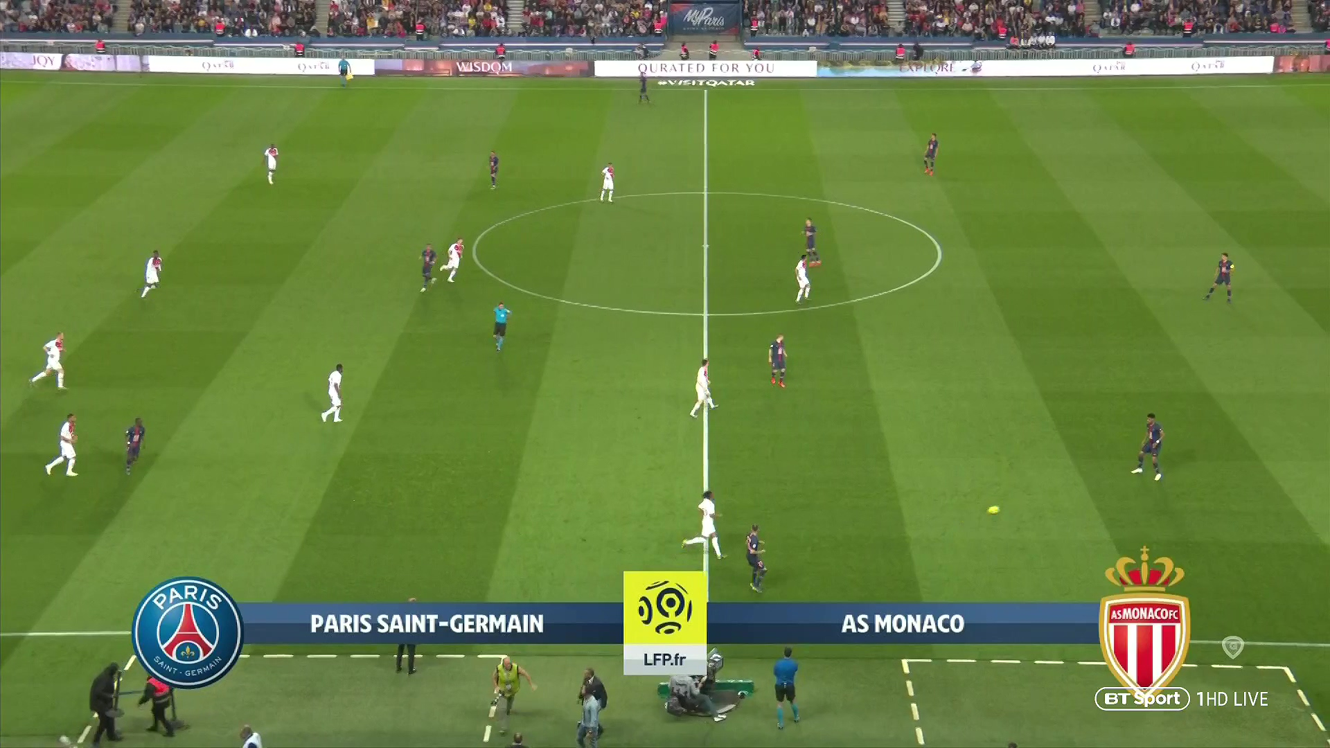 Xem lại: PSG vs Monaco