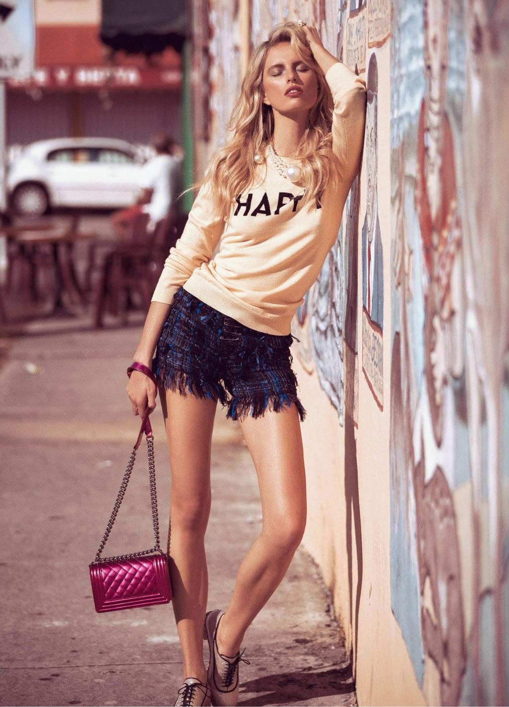 Karolina Kurkova by Koray Birand / Vogue Mexico april 2014 - photo 09