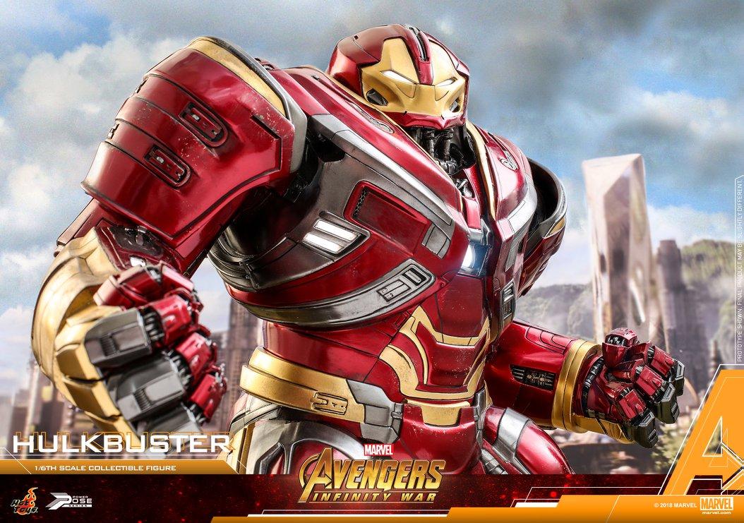 Avengers Infinity War - HulkBuster Mark 2 1/6 (Hot Toys) CmIJAL2N_o
