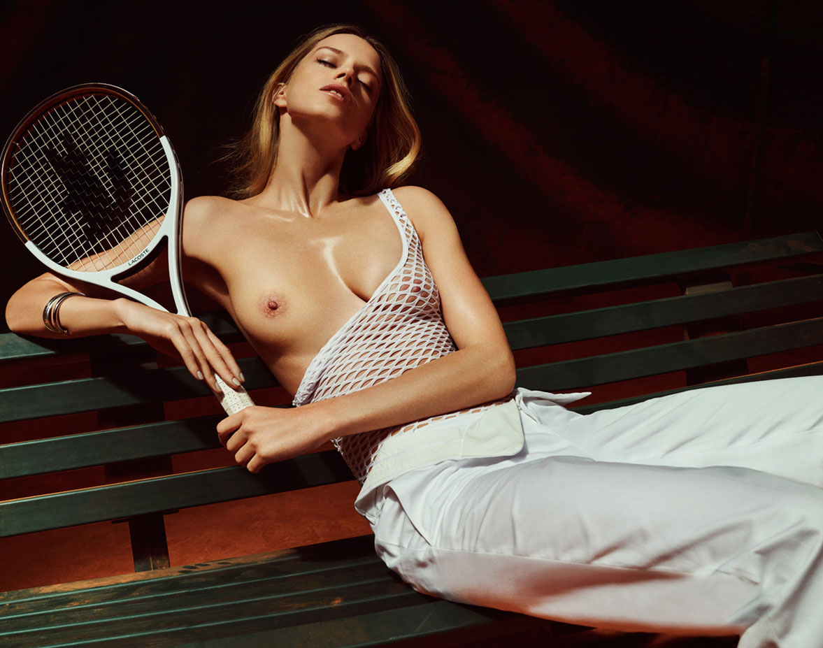 tennis mixt lesson by Raf Stahelin / Lui Magazine june 2015