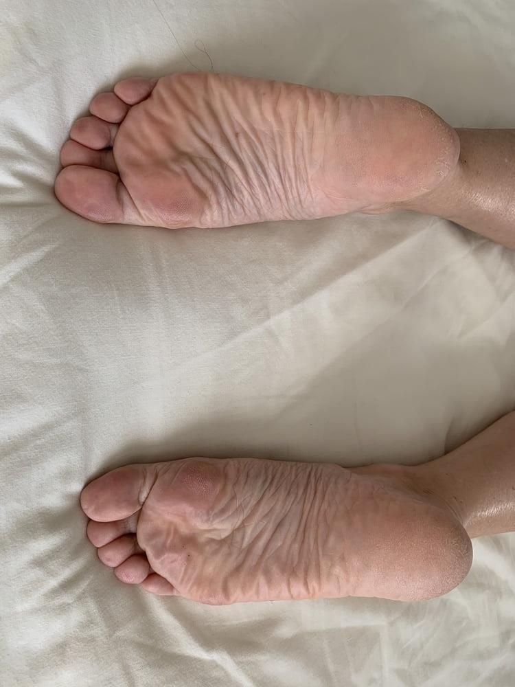 Lesbian feet bondage-3470