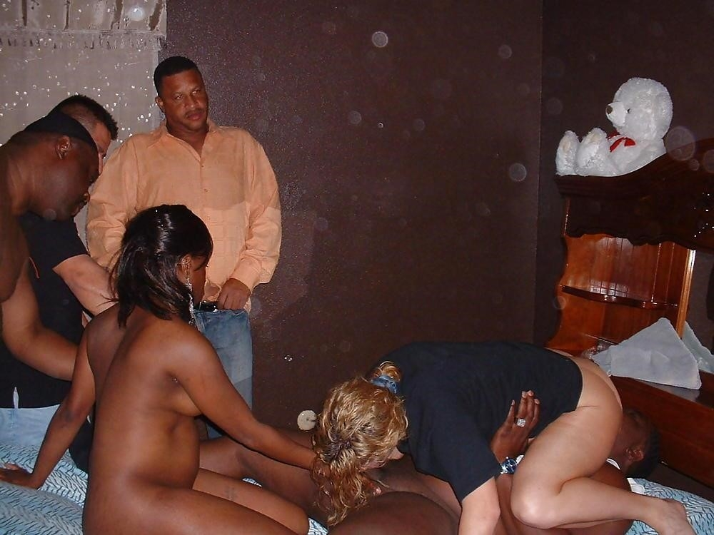 College interracial orgy-3335