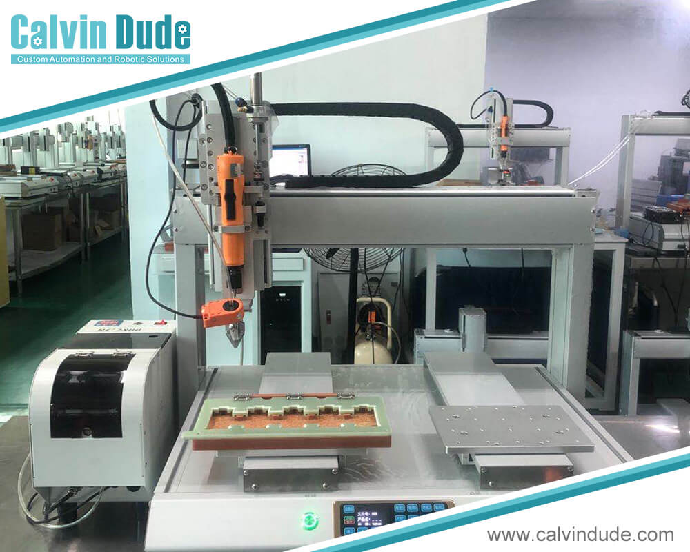 Huizhou Calvindude Technology Co., Ltd Presents High-Tech and Practical Automatic Screw Fastening Machine for Quick and Quality Fixations