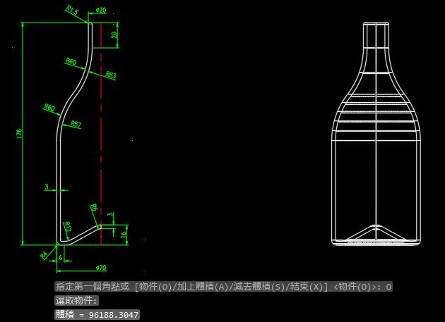 [練習]AutoCAD 3D立體圖形-習題05 M7gASjhS_o