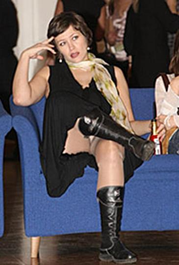 Фото под юбки актриса российского кино — 9