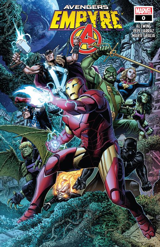 Empyre - Avengers #0-3 (2020)