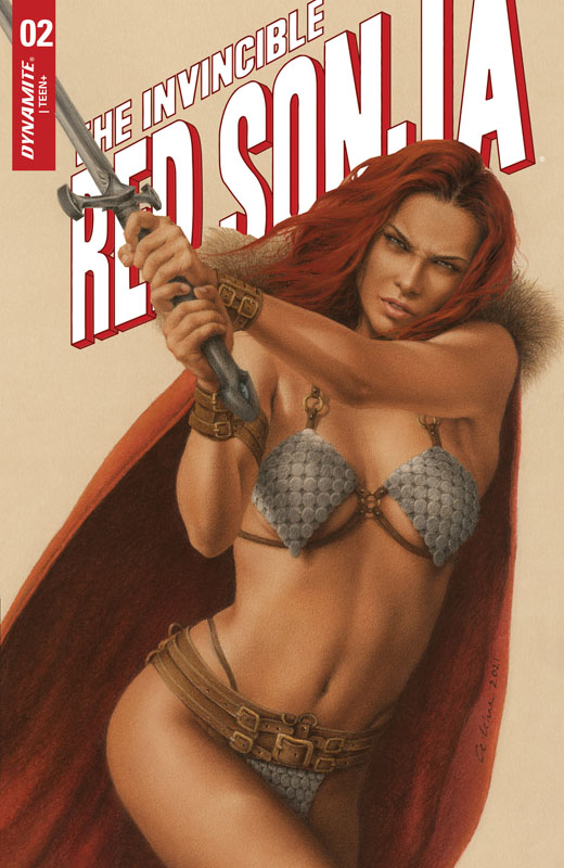 The Invincible Red Sonja #1-5 (2021)