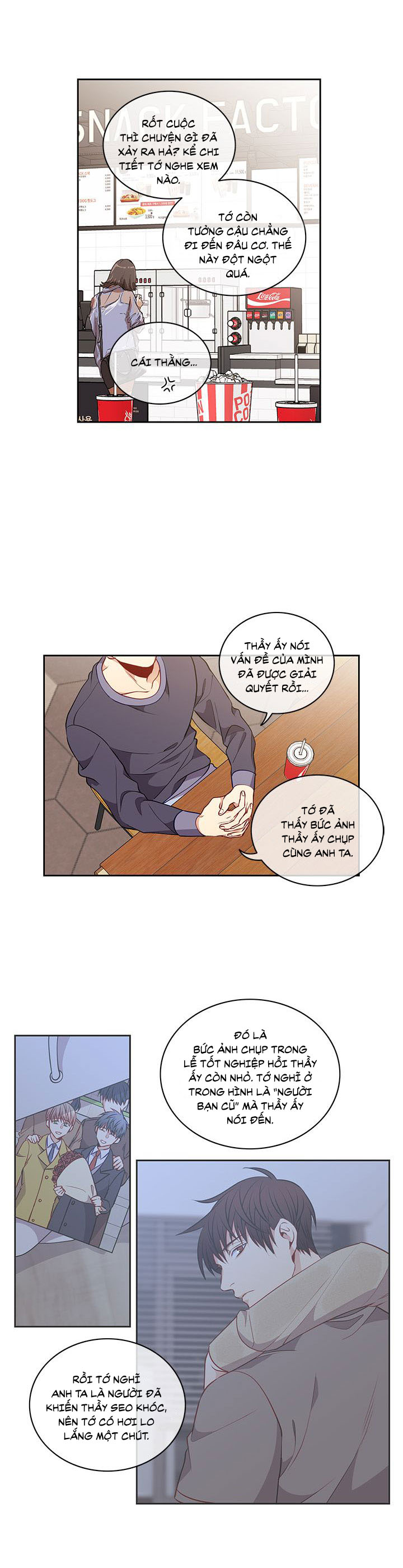 Phía Sau Bàn Giấy Chapter 20 - Trang 6