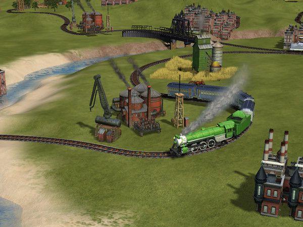 Sid Meier's Railroads! Captura 1