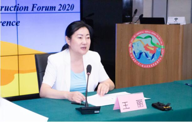 Dr. Wang Li addressed at the forum