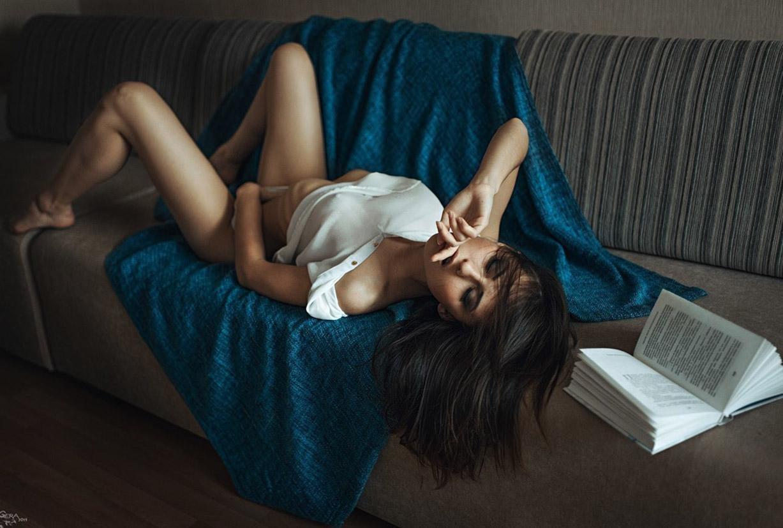Портрет Екатерины Тимохиной / Ekaterina Timokhina by Georgy Chernyadyev