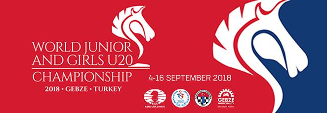 World Junior Under 20 Chess Championship 2018