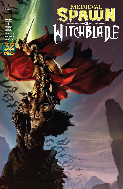 Medieval Spawn & Witchblade #1-4 (2018)