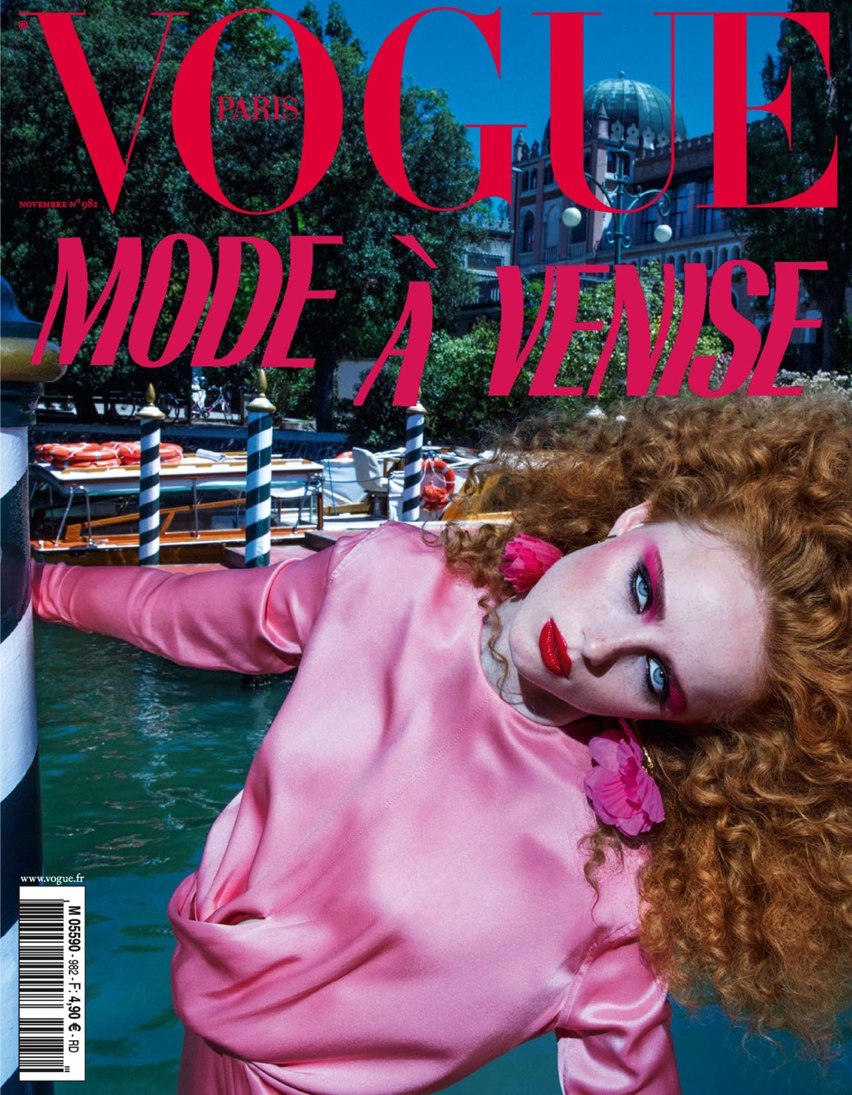 Венецианская фантазия Рианны ван Ромпай / Rianne van Rompaey by Inez van Lamsweerde and Vinoodh Matadin - Vogue Paris november 2017